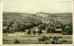 Bird's Eye View of Trinidad, Colo.