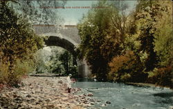 Concrete Bridge, Los Gatos Creek