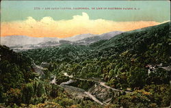 Los Gatos Canyon on Line of Southern Pacific R. R.