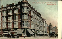 Crellin Hotel and Washington St.