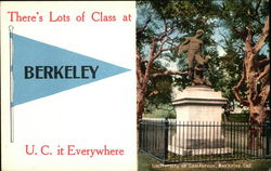 There's Lots of Class at Berkeley - U.C. it Everywhere, University of California, Berkeley
