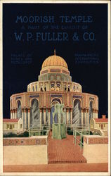 Moorish Temple, A Part of the Exhibit of W. P. Fuller & Co.