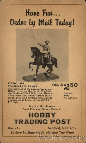Hobby Trading Post - Confederate Raider Kit Seaford New York