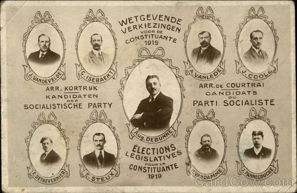 Wetgevende Verkiezingen - Socialist Party Belgium Benelux Countries