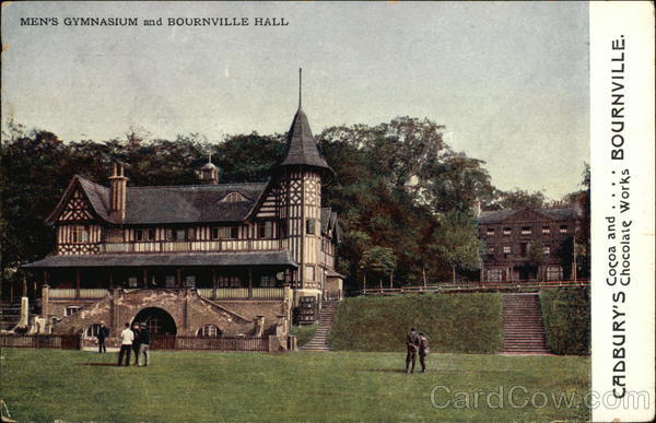 Cadbury's Cocoa and Chocolate Works, Bournville Advertising