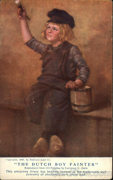 The Dutch Boy Painter Lawrence C. Earle Advertising