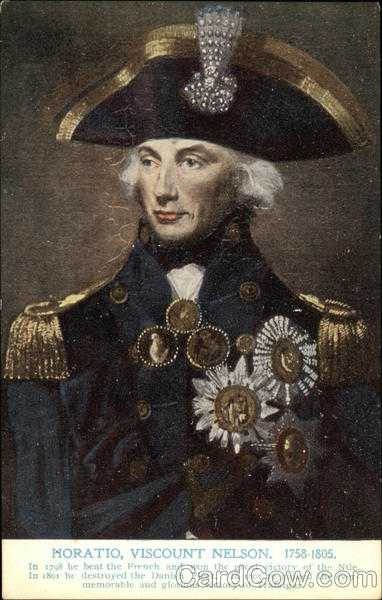 Portrait of Horatio, Viscount Nelson Military
