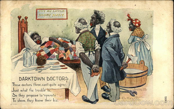 Darktown Doctors R. F. Outcault Black Americana