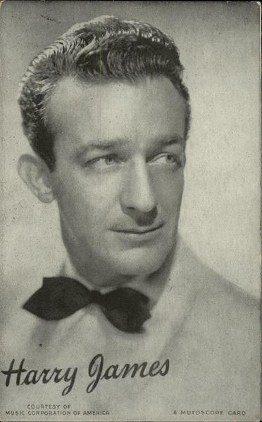 Portrait of Harry James Music