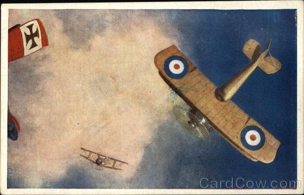 A Battle In the Blue - WWI Dogfight World War I