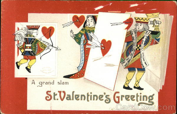 A grand slam St Valentine's Greeting