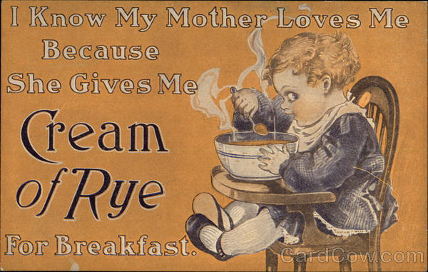 Cream of Rye - Minneapolis Cereal Co. Advertising