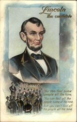 Abraham Lincoln as a Candidate Postcard