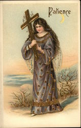 A Woman Carrying a Cross