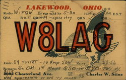 W8LAG - Lakewood, Ohio, Charles W. Stine