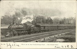 The P. R. R. New York-Chicago Flyer 18-hour Train