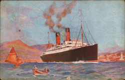 """Cunarder In The Adriatic"" - Artist, Opile Rosenhinge"