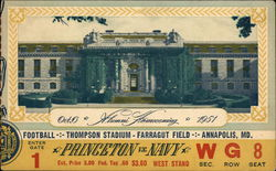 1951 Princeton vs. Navy Alumni Homecoming