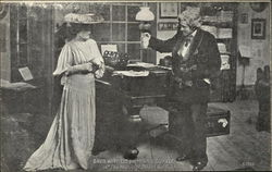"David Warfield and Minnie Dupree in ""The Music Master"", Act I"