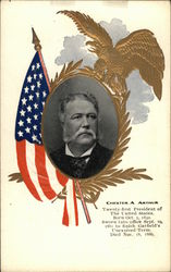 Chester A. Arthur, Twenty-first President of The United States