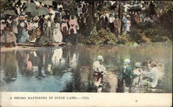 A Negro Baptizing in Dixie Land
