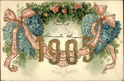Good Luck in the New Year 1905