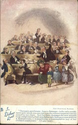 In Dickens' Land - The Pickwick Papers Postcard