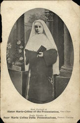Real Portrait of Sister Marie-Celine of the Presentation, Poor Clare