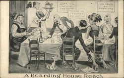 A Boarding House Reach at the Dinner Table