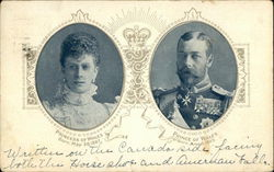 Portrait of Princess and Prince of Wales