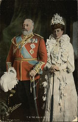T. M. The King and Queen, Edward VII and Alexandra
