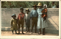 Six African American Children