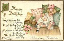 A Happy Birthday - With All Its Joys Replete