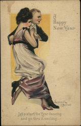 A Happy New Year - Elegant Couple Dancing