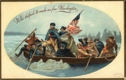Washington Crossing the Delaware Painting