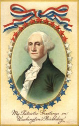 My Patriotic Greetings on Washington's Birthday!