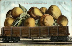 A Car Load of Giant Californian Pears