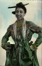 Woman from Martinique in Local Costume