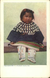 American Indian Child in Native Dress