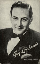 Guy Lombardo Portrait