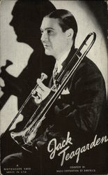 Jack Teagarden, with Trombone