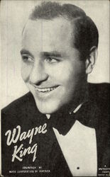 Wayne King Portrait