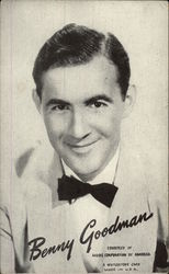 Benny Goodman Portrait