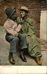 African American Couple Embracing