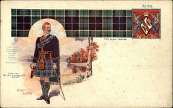 Clan Leslie - Clan Tartan and Coat of Arms