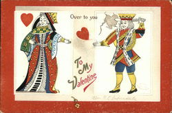 Over to You - King and Gueen of Hearts Joining Hands