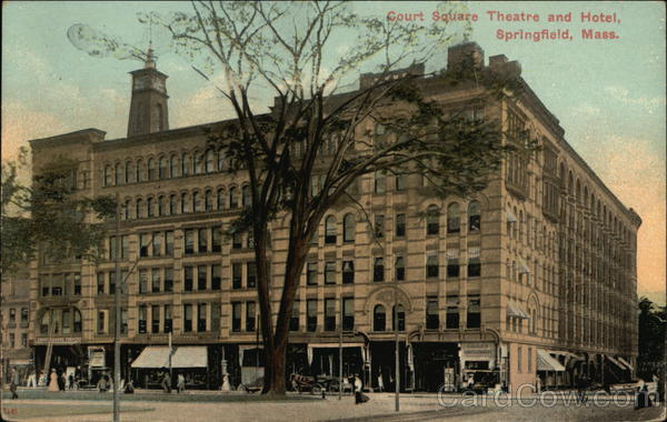 Court Square Theatre and Hotel Springfield Massachusetts