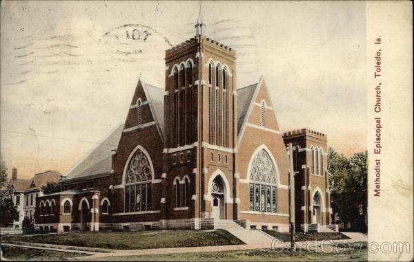 Methodist Episcopal Church Toledo Iowa
