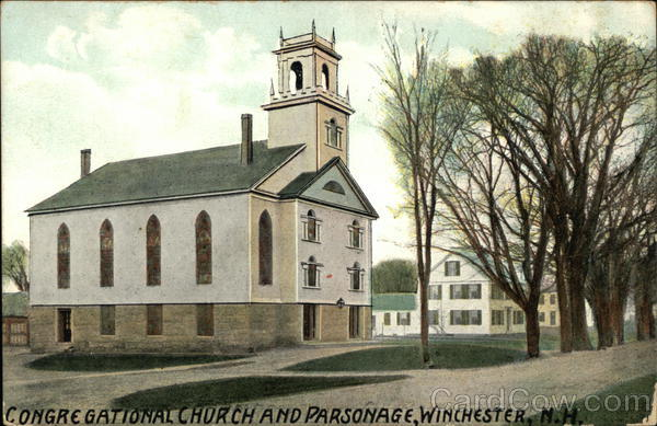 Congregational Church and Parsonage Winchester New Hampshire