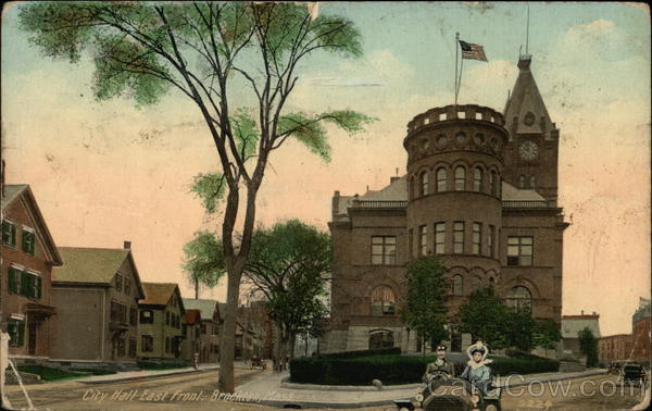 City Hall - East Front Brockton Massachusetts